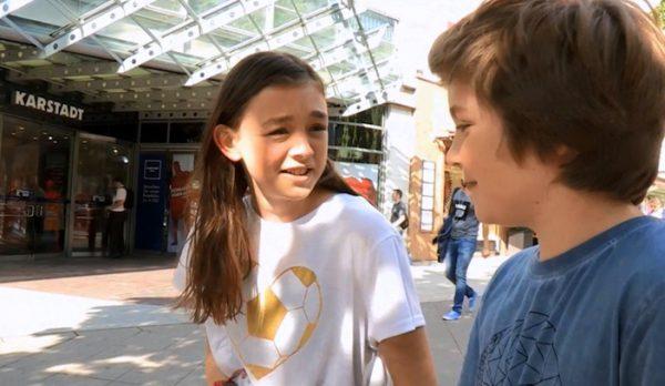 Unsere Kinderreporter Enna und Nico